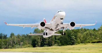 Swiss zaradil do svojej flotily nový Bombardier CS100