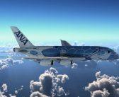 Japonské aerolinky ANA predstavili špeciálny dizajn svojho prvého Airbusu A380