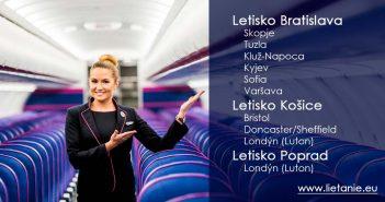 Kam bude lietať Wizz Air počas leta zo Slovenska?