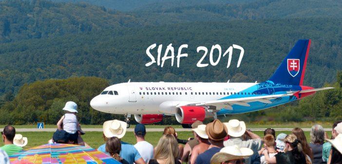 Medzinárodné letecké dni SIAF 2017