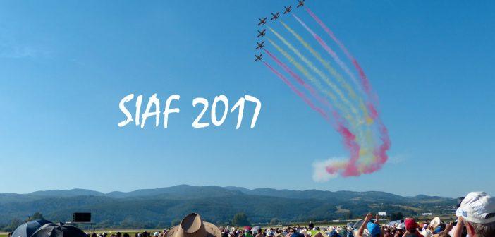 Program Medzinárodných leteckých dní SIAF 2017